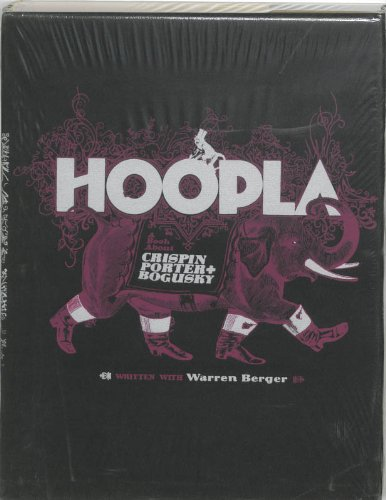 9789063691523: Hoopla: By Crispin Porter and Bogusky