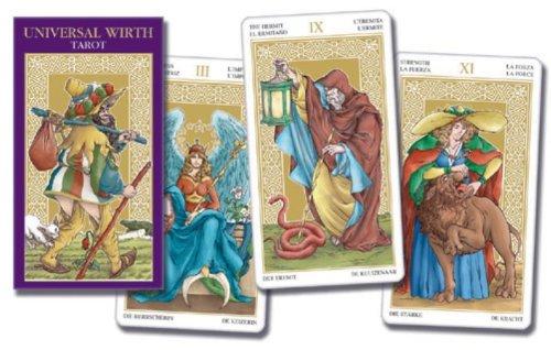 9789063788520: Scarabeo Universal Wirth Tarot (NL) / druk 1: 78 full-colour kaarten