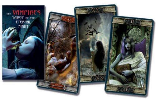9789063788728: Scarabeo The Vampires Tarot of the Eternal Night: 78 full-colour kaarten