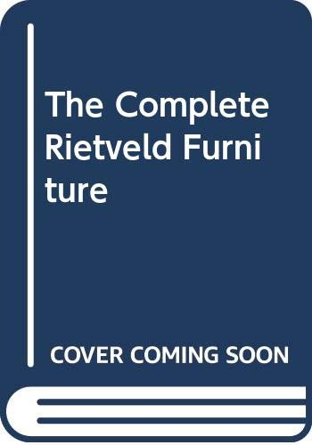 Complete Rietveld Furniture: Voge, Peter, Overy,