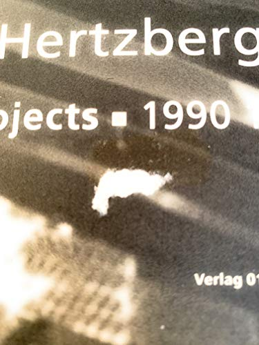 9789064502316: Herman Hertzberger, Projekte / Projects 1990-1995 (German and English Edition)