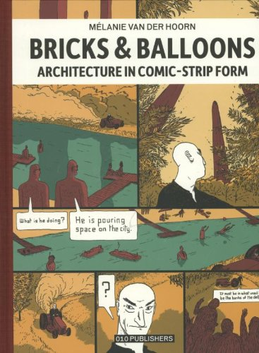 9789064507960: Bricks & Balloons: Architecture in Comic-strip Form