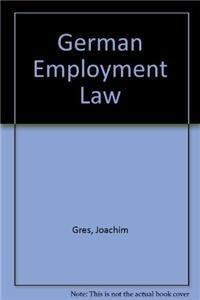 9789065441447: Handbook of German Employment Law