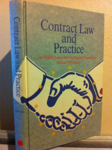 9789065444486: Contract Law and Practice: The English System and Continental Comparisons