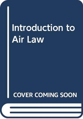 9789065447203: Introduction to Air Law