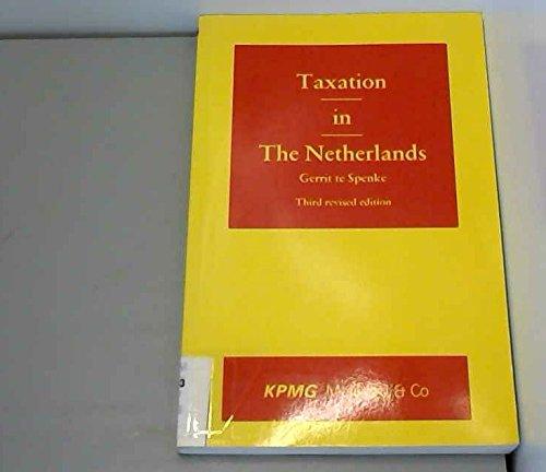 Taxation in the Netherlands: Spenke, Gerrit