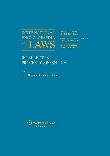 9789065448873: International Encyclopaedia of Laws: Intellectual Property