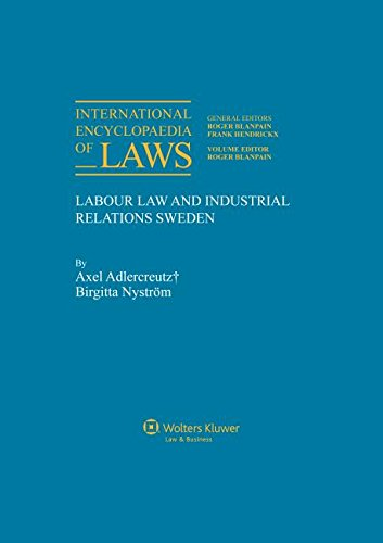 International Encyclopaedia for Labour Law and Industrial: Roger Blanpain (Editor)