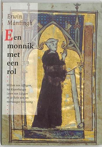 Een monnik met een rol. Willem van: MANTINGH, ERWIN.