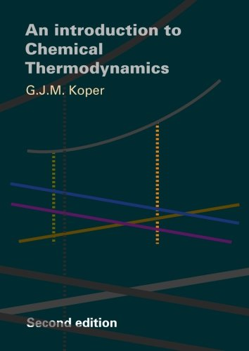 9789065621870: An Introduction to Chemical Thermodynamics