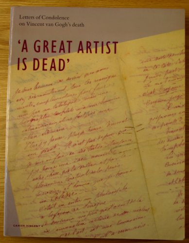 A Great Artist is Dead: Letters of: Ronald Pickvance.
