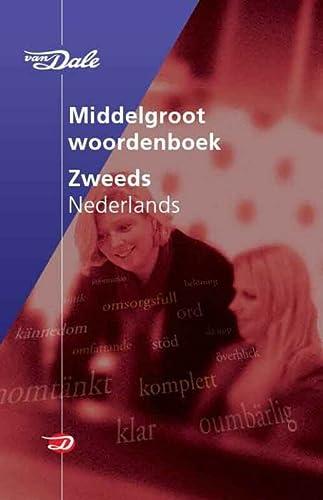 9789066482975: Van Dale Middelgroot woordenboek Zweeds-Nederlands / druk 1