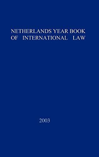 9789067041706: 33: Netherlands Yearbook of International Law - 2002