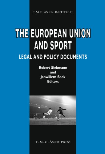 The European Union and Sport: Legal and Policy Documents (Hardback)