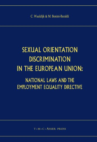 Sexual Orientation Discrimination in the European Union: Kees Waaldijk, Matteo