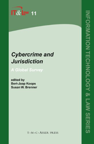 Cybercrime and Jurisdiction: A global survey (Information Technology and Law Series)