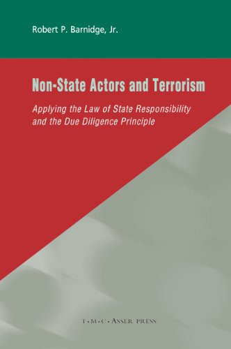 9789067042598: Non-State Actors and Terrorism: Applying the Law of State Responsibility and the Due Diligence Principle