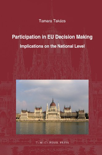 Participation in EU decision making : implications on the national level : [including a case study ...