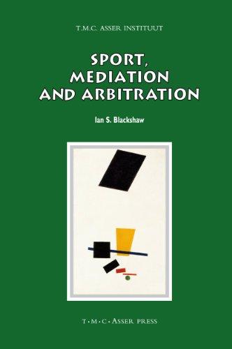 9789067043076: Sport, Mediation and Arbitration (ASSER International Sports Law Series)