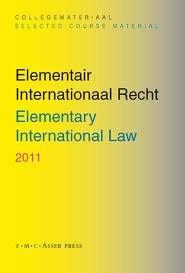 9789067043373: Elementary International Law 2011