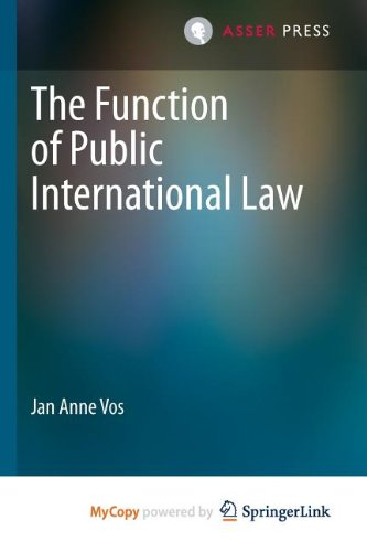 9789067048620: The Function of Public International Law
