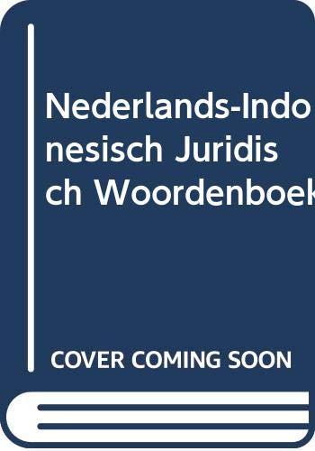 Nederlands-Indonesisch juridisch woordenboek (Hardback)