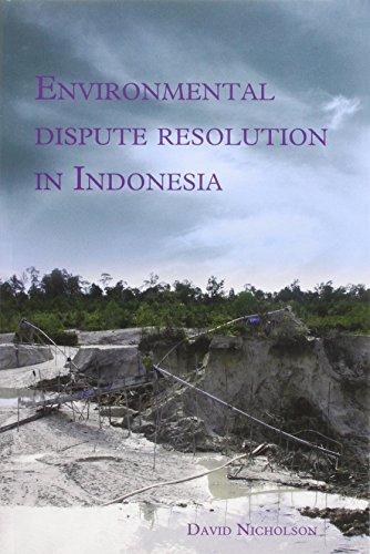 9789067183260: Environmental Dispute Resolution in Indonesia (Verhandelingen)