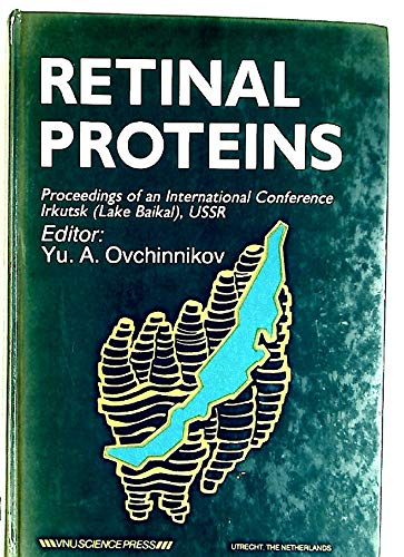 9789067641029: Retinal Proteins: Proceedings of the International Conference, USSR, 1986