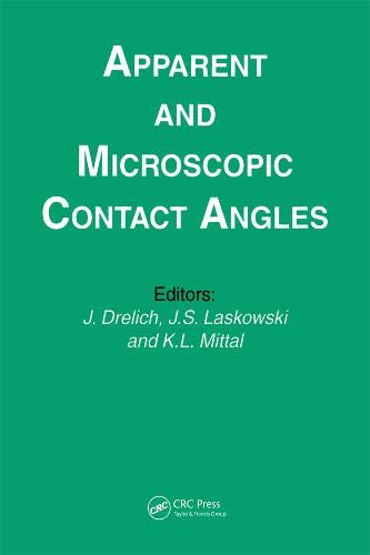9789067643214: Apparent and Microscopic Contact Angles