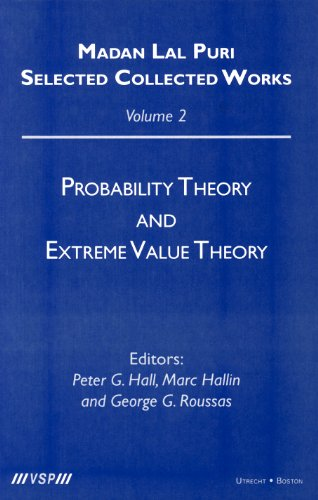 9789067643856: Probability Theory and Extreme Value Theory (Madan Lal Puri. Selected Collected Works, 2)