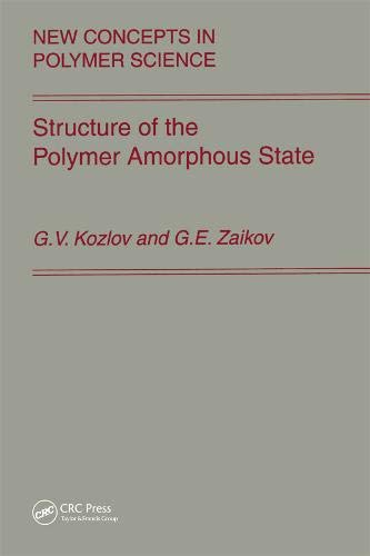 9789067644013: Structure of the Polymer Amorphous State (New Concepts in Polymer Science)