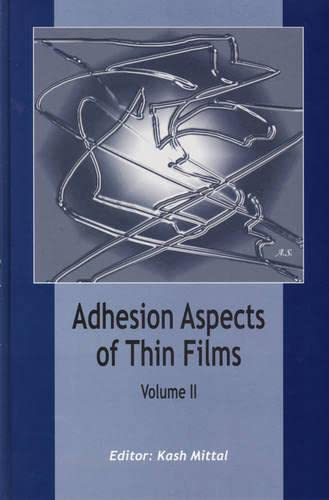 9789067644211: Adhesion Aspects of Thin Films, volume 2