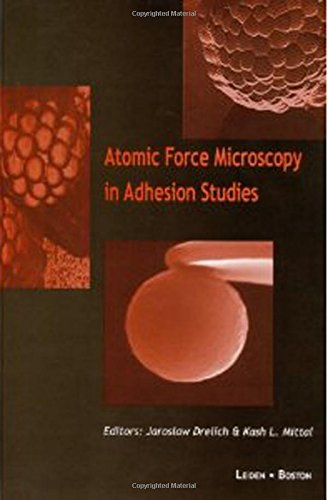 9789067644341: Atomic Force Microscopy in Adhesion Studies