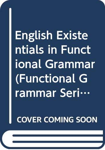 English Existentials in Functional Grammar: Michael Hannay