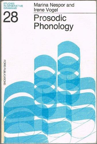 9789067652421: Prosodic Phonology (Studies in Generative Grammar, 28)