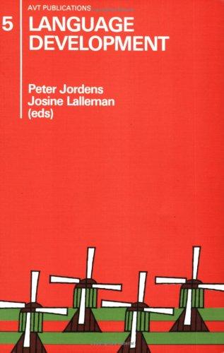 Language Development: Jordens, Peter, Lalleman,