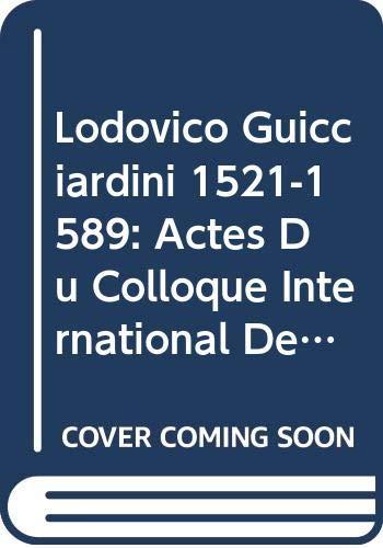 Lodovico Guicciardini. Florence 1521 - Anvers 1589: Jodogne, P