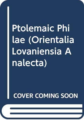 9789068312003: Ptolemaic Philae (Orientalia Lovaniensia Analecta)