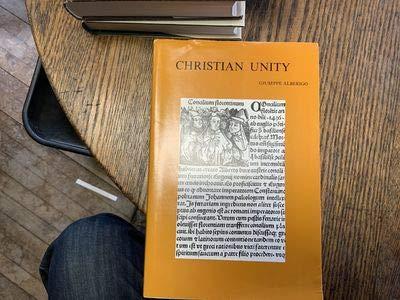 Christian Unity: AlberigoG.,