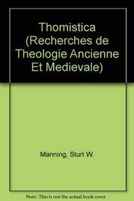 Thomistica: ManningE.,