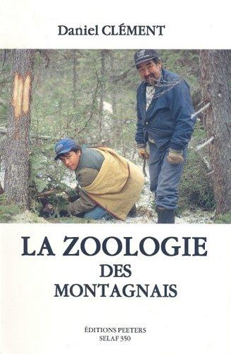 9789068316865: La zoologie des Montagnais ES10 (Societe d'Etudes Linguistiques et Anthropologiques de France)