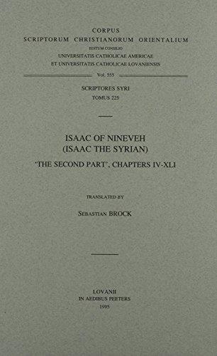 Isaac of Nineveh (Isaac the Syrian) : Sebastian Brock