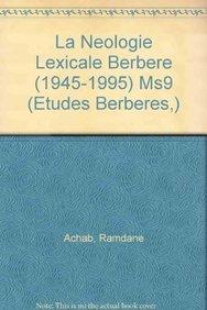 9789068318104: La n�ologie lexicale berb�re: 1945-1995