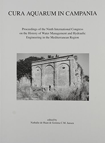 Cura Aquarum in Campania; Proceedings of the: de Haan, Natalie,