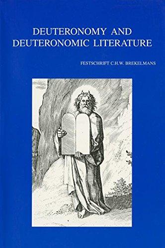 Deuteronomy and Deuteronomic Literature: Vervenne M., Lust J.,
