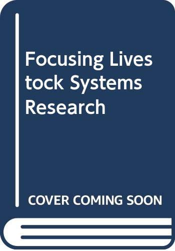 9789068320855: Focusing Livestock Systems Research