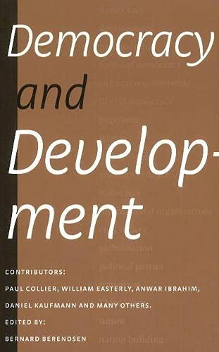 Democracy and Development.: Berendsen, Bernardus Stephanus Maria