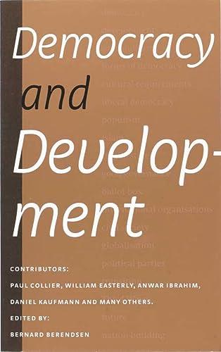 9789068326116: Democracy and Development