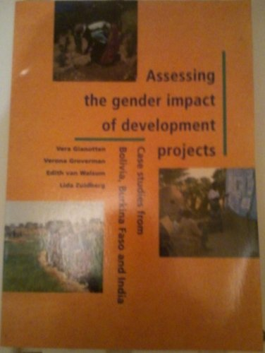 9789068327076: Assessing the Gender Impact of Development Projects: Case Studies from Bolivia, Burkina Faso and India