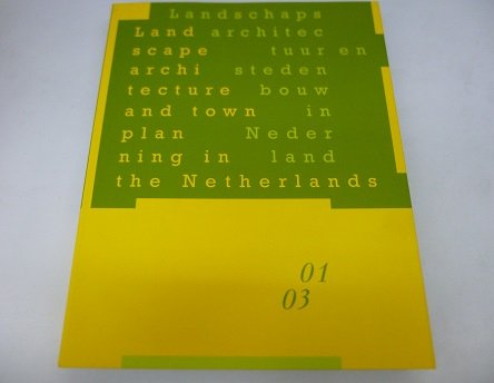 Landscape Architecture & Town Planning in the: Uitgeverij Thoth